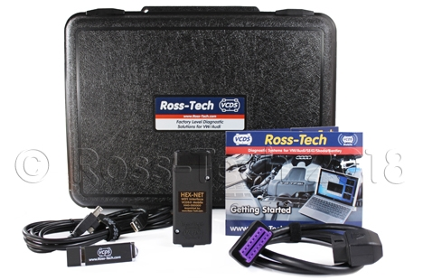 VCDS Professional Kit with HEX-NET Pro